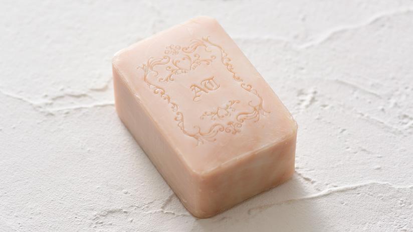 rose honey soap