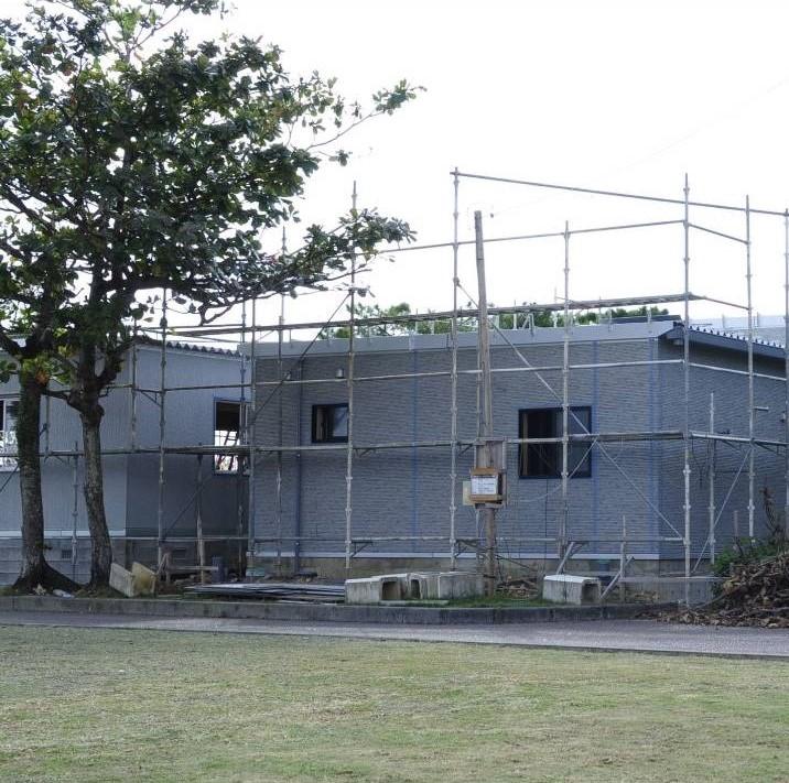 建設中新工場